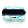 Pretty Pleats Cosmetic Case - Navy Blue