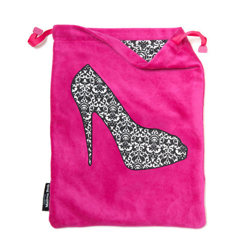 She-She Shoe Bag - Hot Pink