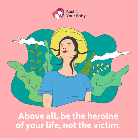 """""""Above all, be the heroine of your life, not the victim 10 The Best Motivational Quotes"""