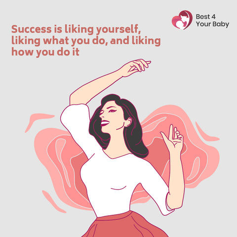Success is liking yourself, liking what you do, and liking how you do it 10 The Best Motivational Quotes