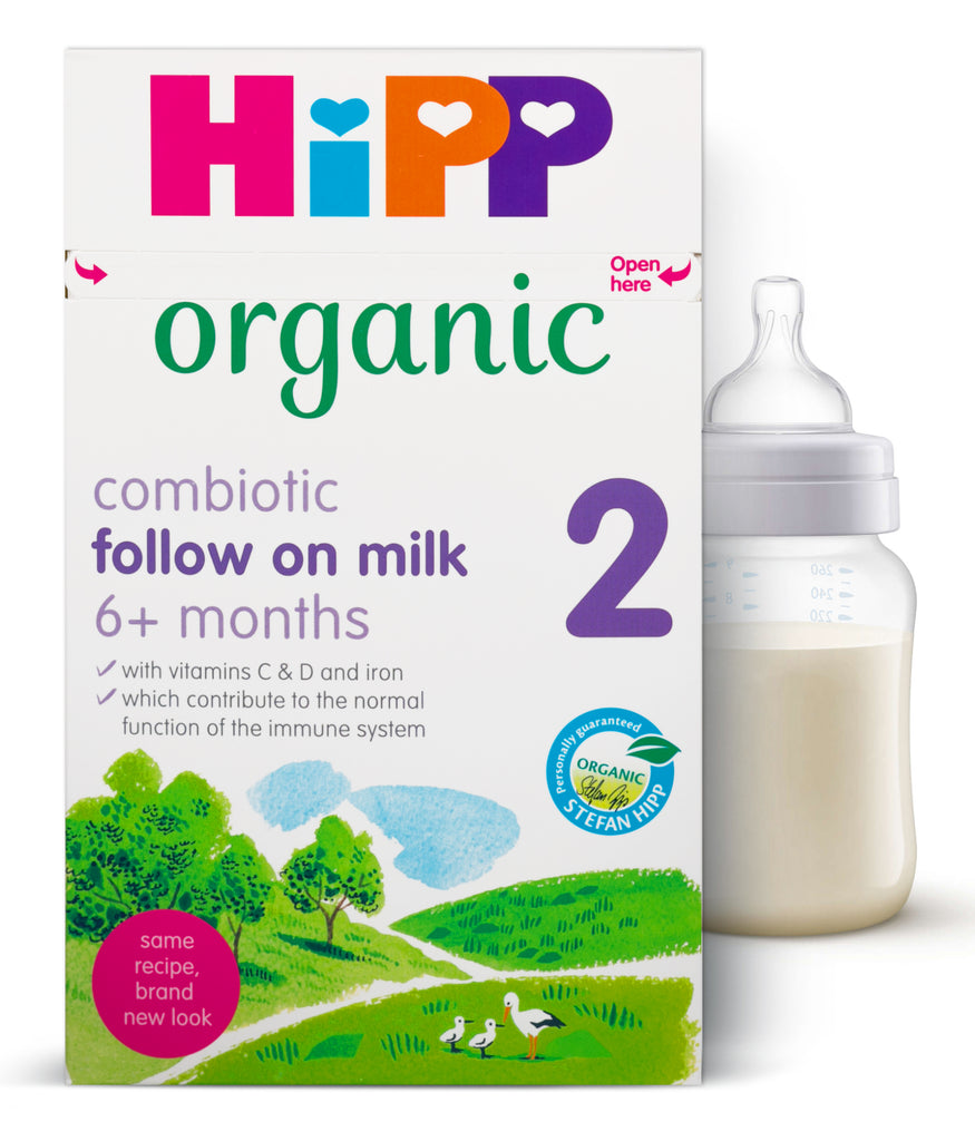 HIPP Organic Combiotik Stage 2 Follow On Milk Formula 800 g UK VERSION