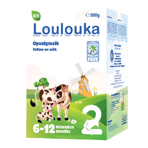 Loulouka Stage 2 Organic Swiss Cow's First Milk Infant Formula 800 g