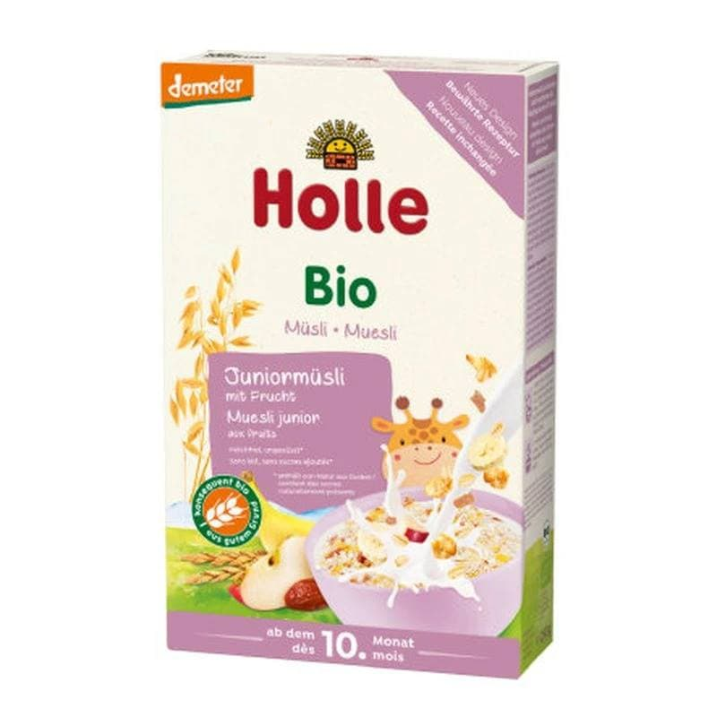 Holle 100% Organic Junior Multigrain Muesli Porridge with Fruits 250g