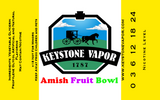 Amish Fruit  Bowl - Keystone Vapor  - 2