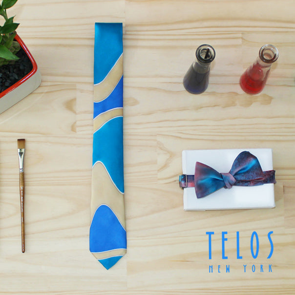 Hand Painted Ties and Telos NY