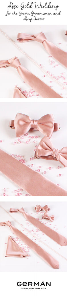 Rose Gold Wedding Pinterest German Valdivia