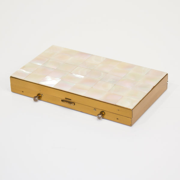 Mother of Pearl Compact and All-in-One Case