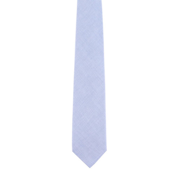 blue pinpoint oxford classic tie by german valdivia