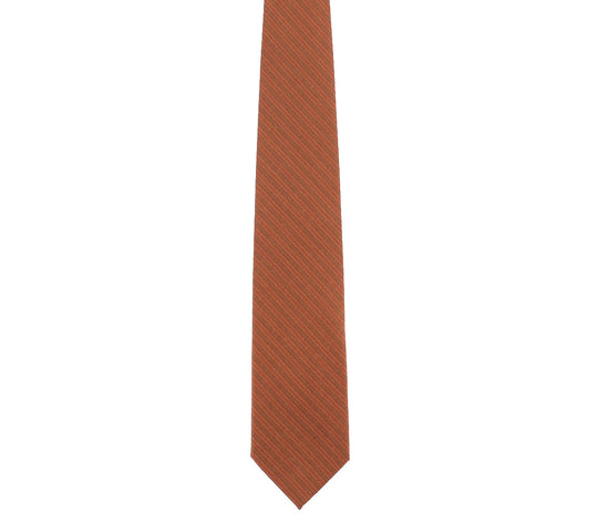 brown tan classic wool tie by german valdivia