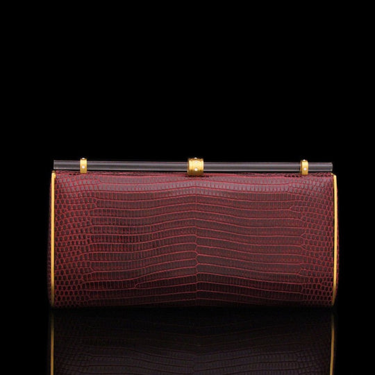 Sophia Clutch in Burgundy