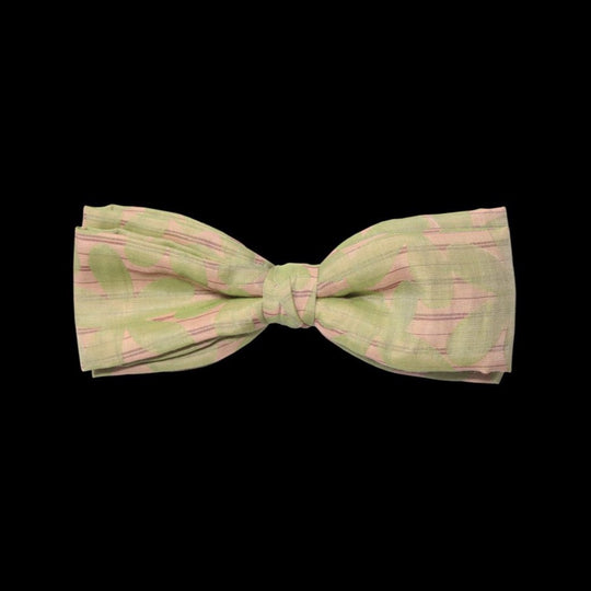 Beije Bowtie with Green Floral Print