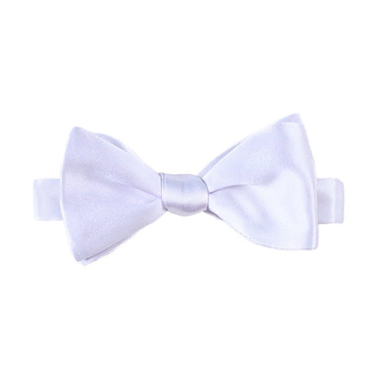 Lavender Silk Self Tied Bow Tie