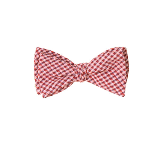 Red Gingham Bow Tie