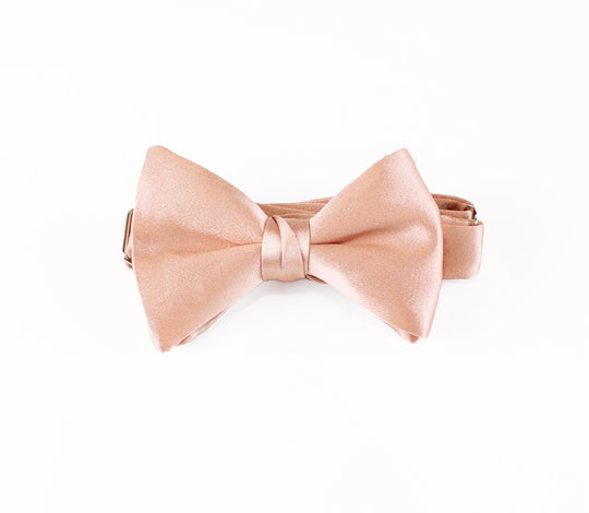rose gold bow tie, rose gold bowtie, rose gold bowtie self tie