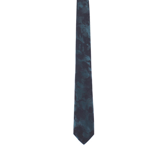 emerald black skinny tie by german valdivia