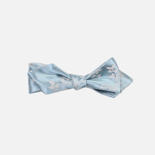 Baby Blue Diamond Tip Bowtie