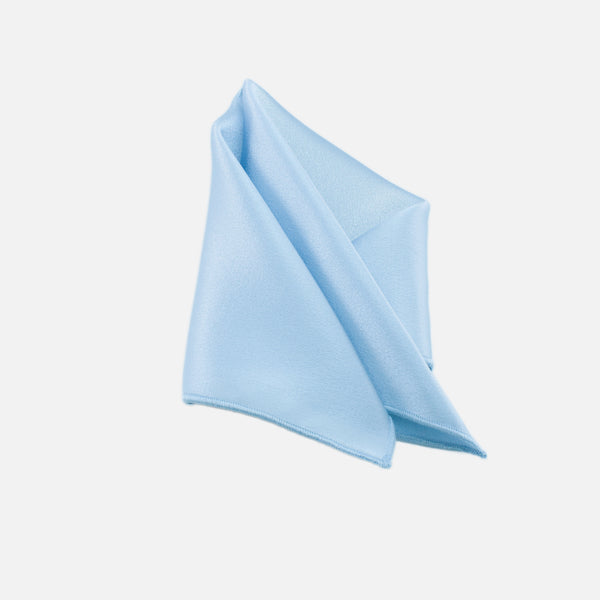 Powder Blue Pocket Square