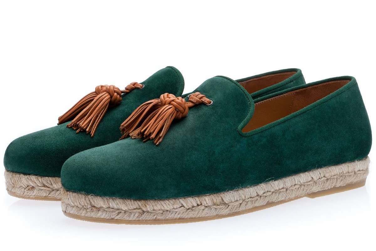 BRENT SOFTY GREEN ROPE Espadrilles Superglamourous
