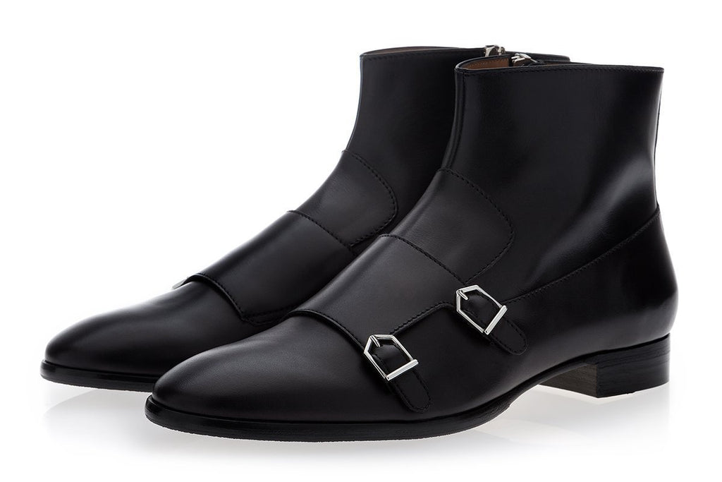 Italian leather boots mens Odilon Nappa