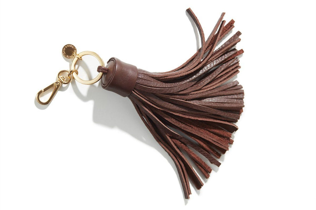 NAPPANEE GRAIN BROWN KEY RING