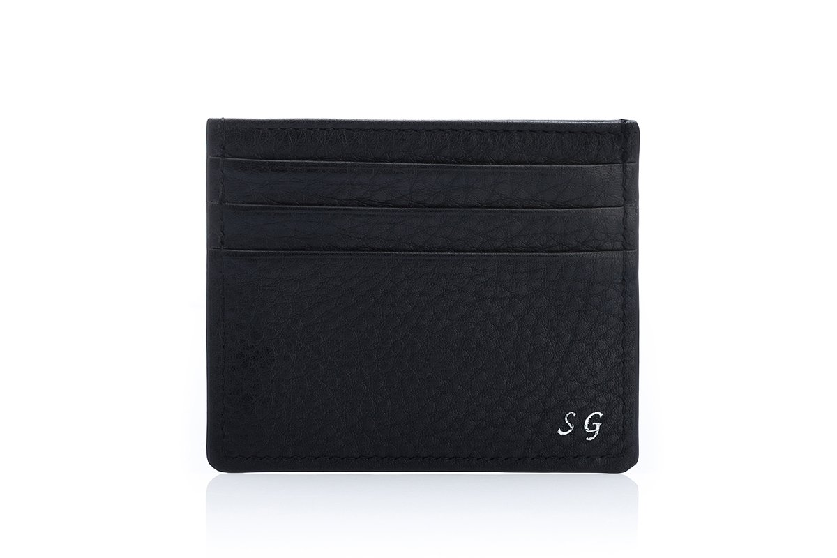 ANTIGUA GRAIN BLACK CREDIT Small Leather Goods Superglamourous