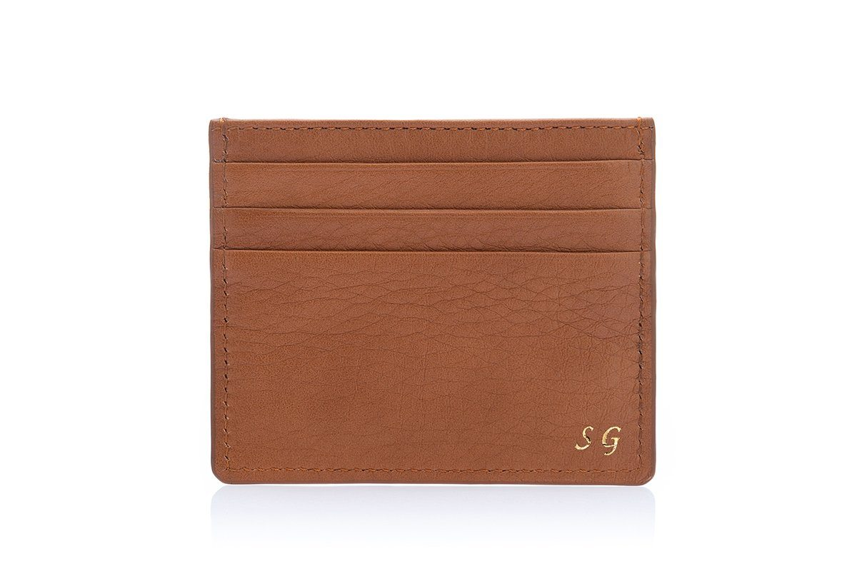 ANTIGUA GRAIN COGNAC CREDIT Small Leather Goods Superglamourous