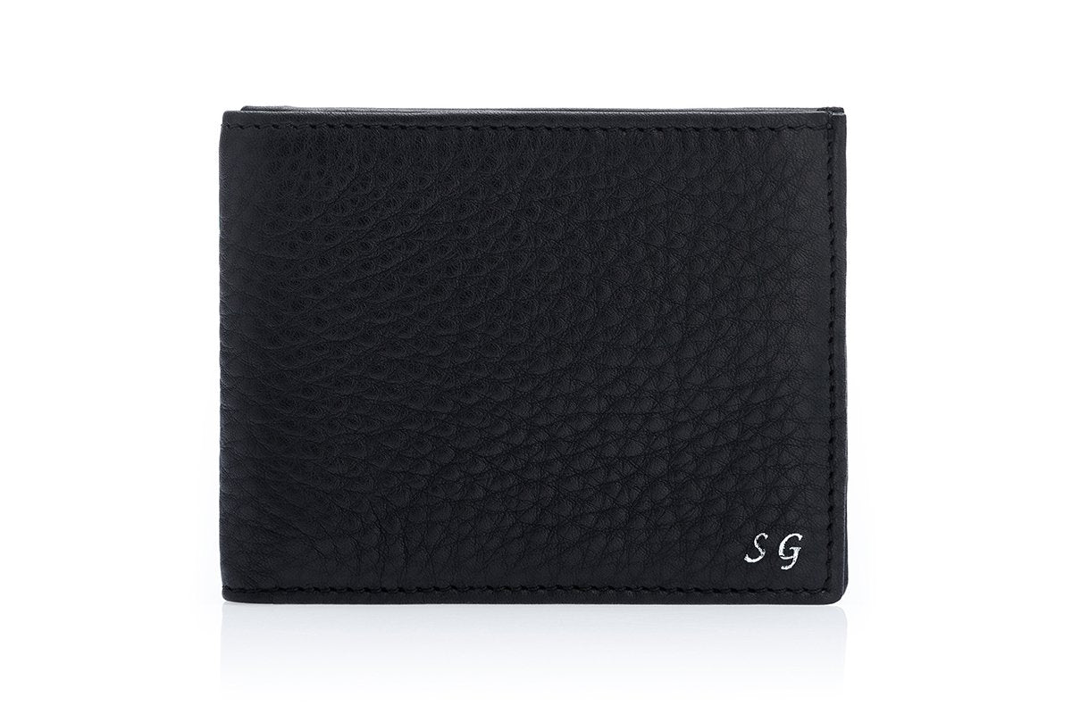 GUADALUPA GRAIN BLACK WALLET Small Leather Goods Superglamourous