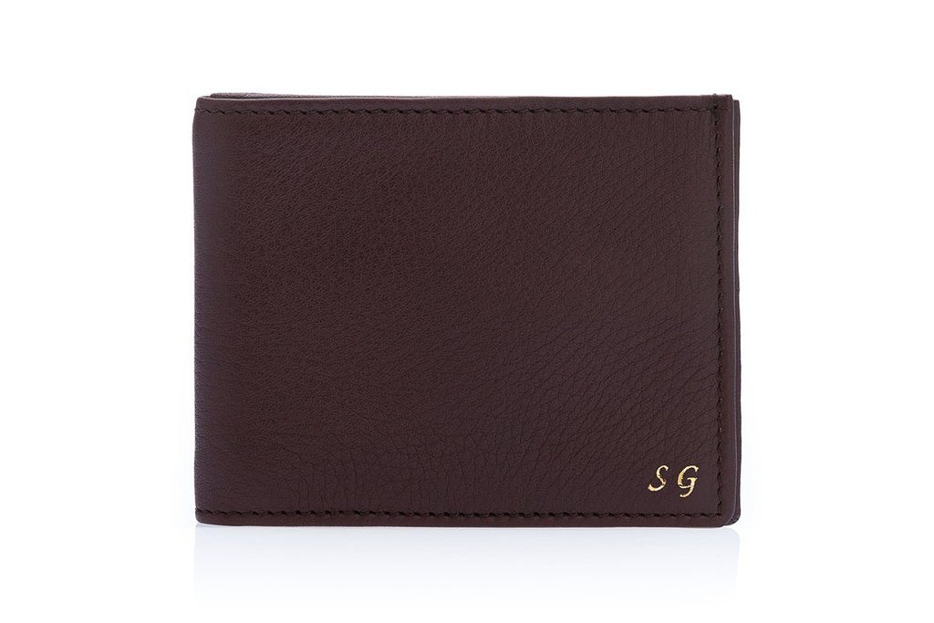 GUADALUPA GRAIN BROWN WALLET Small Leather Goods Superglamourous