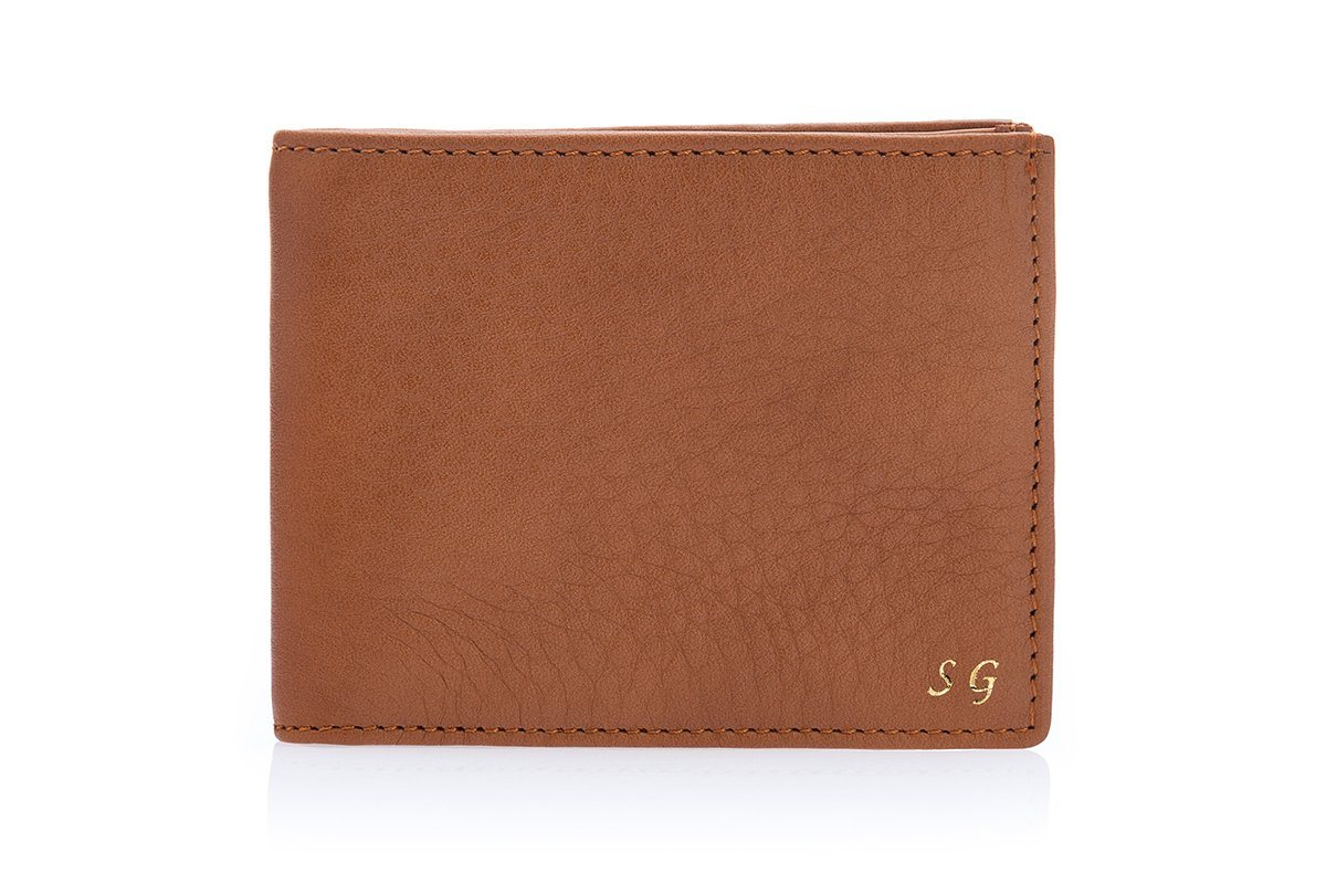 GUADALUPA GRAIN COGNAC WALLET Small Leather Goods Superglamourous