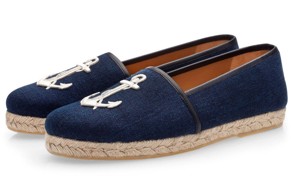 ARIEL CANVAS NAVY ROPE