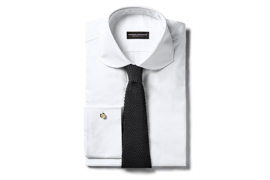 BOCADORO COTTON WHITE SHIRT Shirts Superglamourous