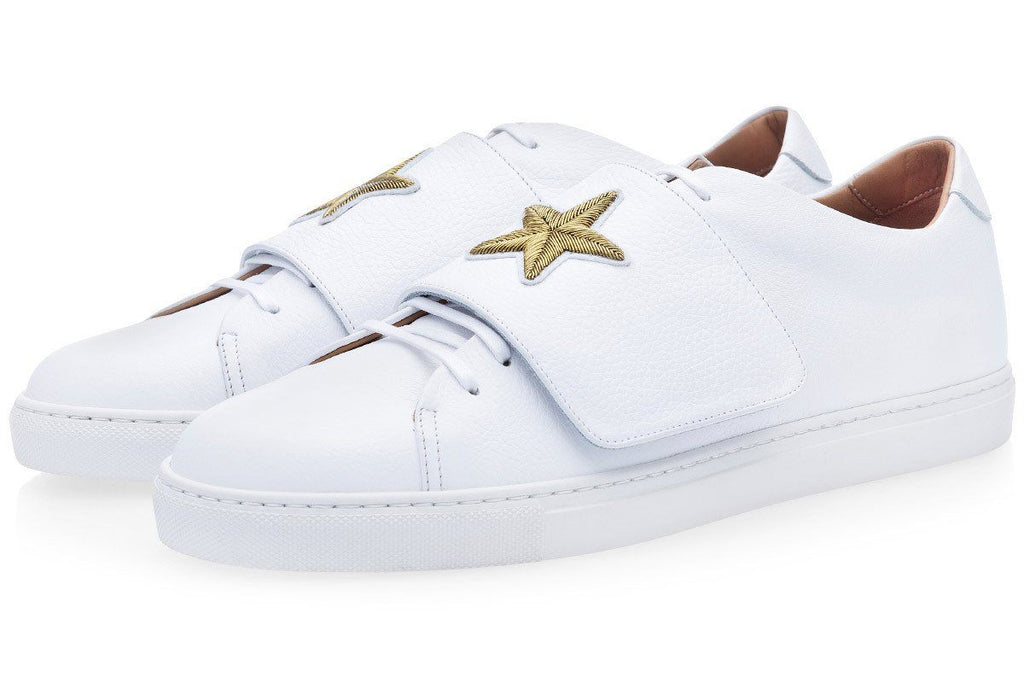 CANAVERAL GRAIN WHITE LOW TOP