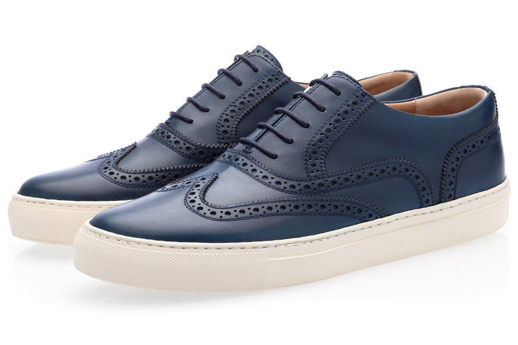 CASTOR NAPPA NAVY LOW TOP
