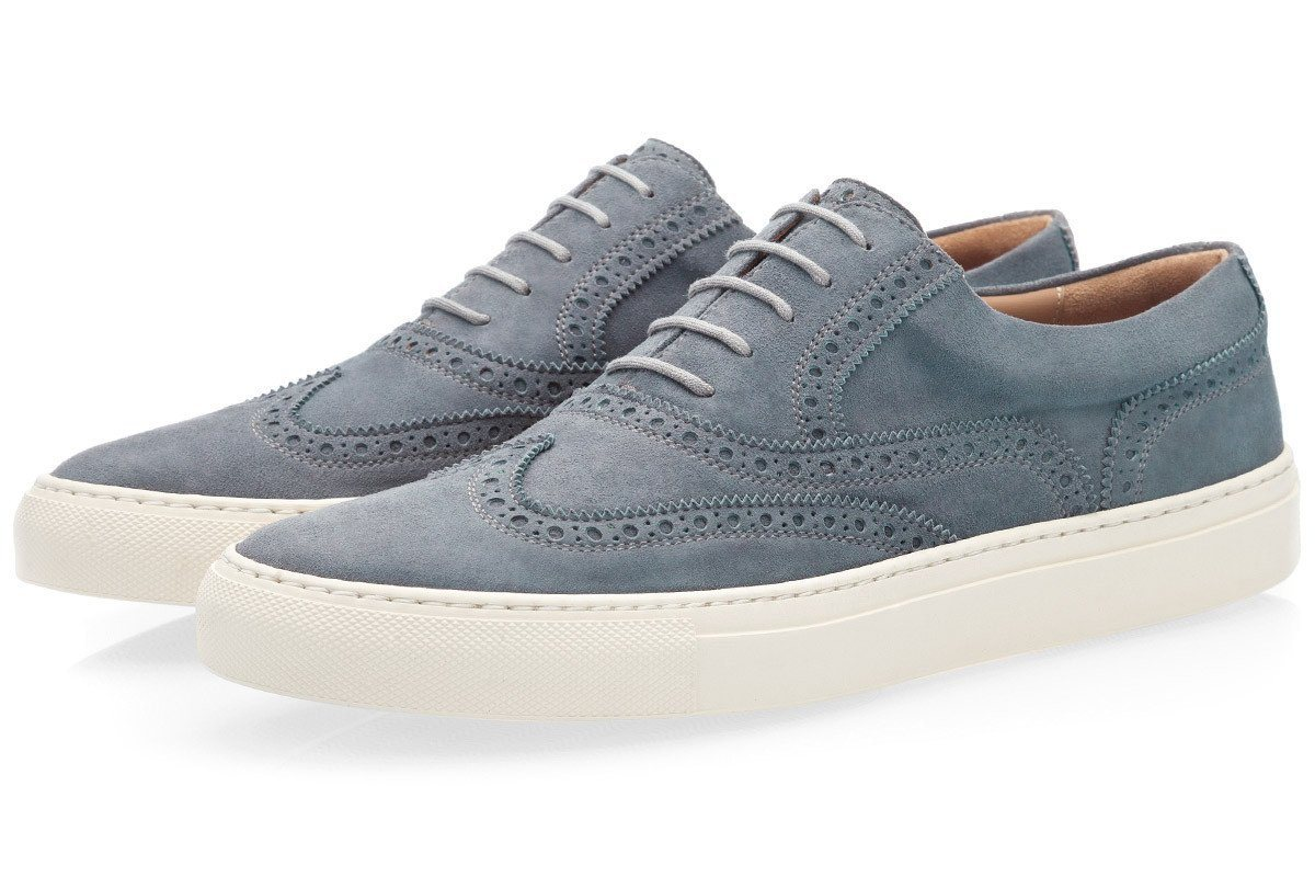 CASTOR VELUKID ASPHALT LOW TOP