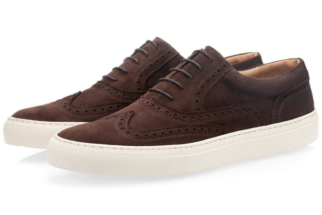 CASTOR VELUKID COCOA LOW TOP