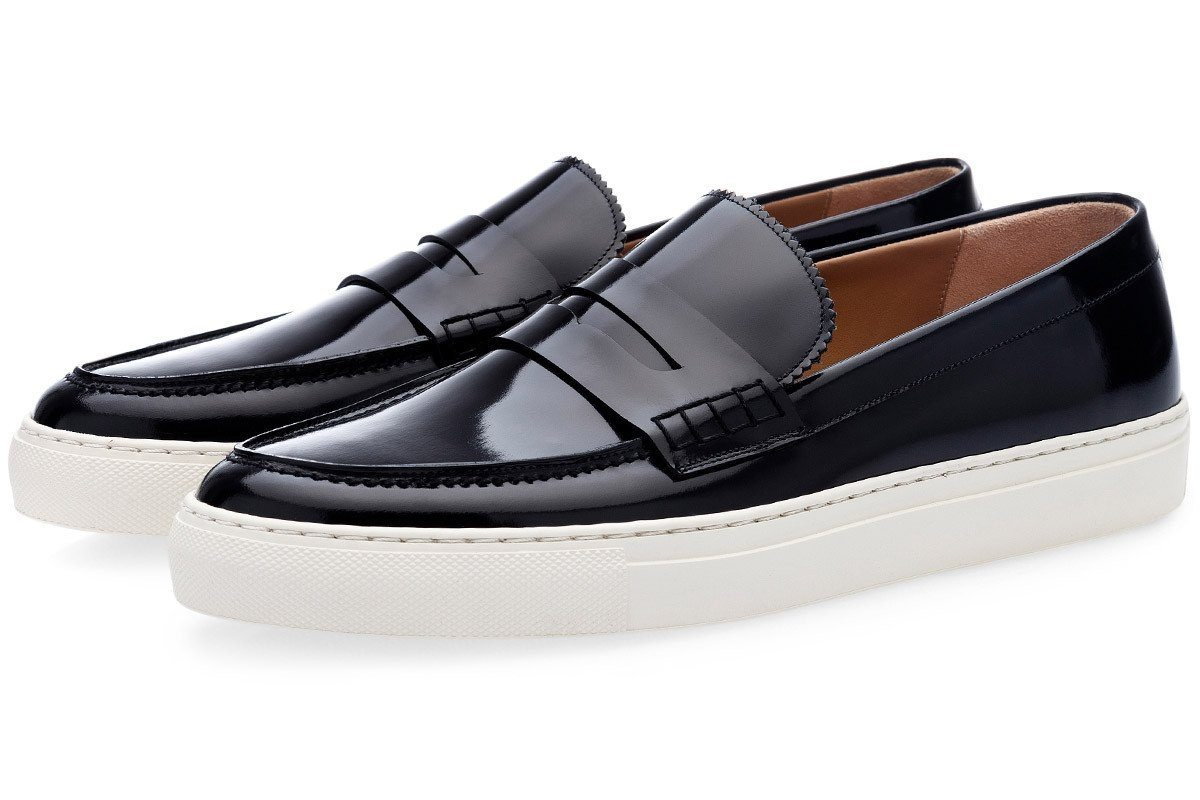 COLLEGE BRUSHED BLACK SKATE