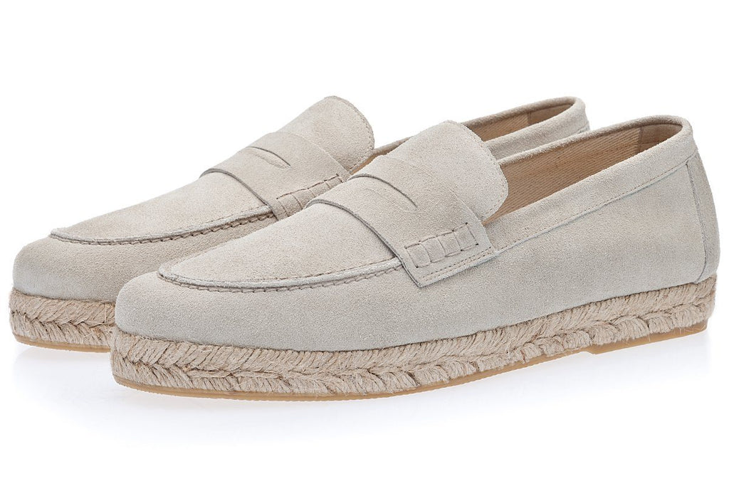 Men's Espadrilles light cream