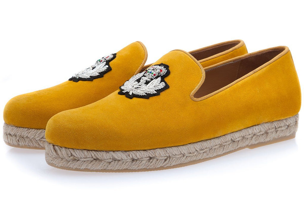 COLONY SOFTY MUSTARD ROPE Espadrilles Superglamourous