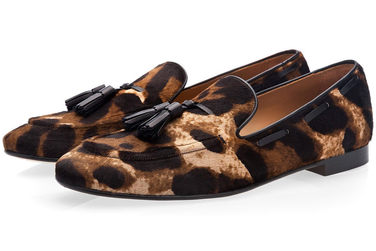 PHILIPPE PONY BENGALA LOAFERS
