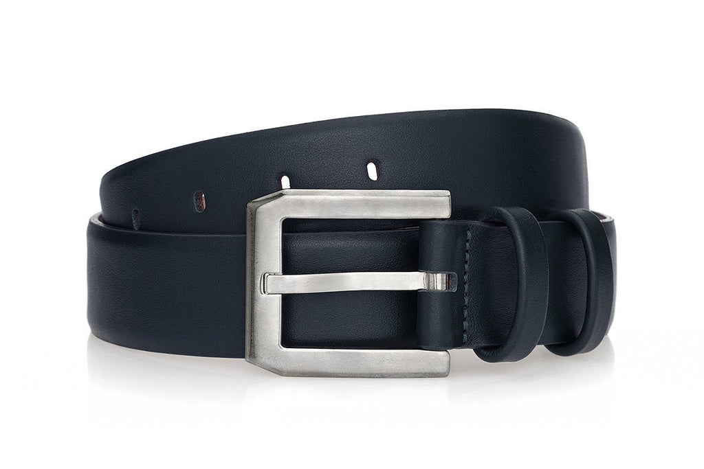 CREVEL NAPPA NAVY BELT Belts Superglamourous