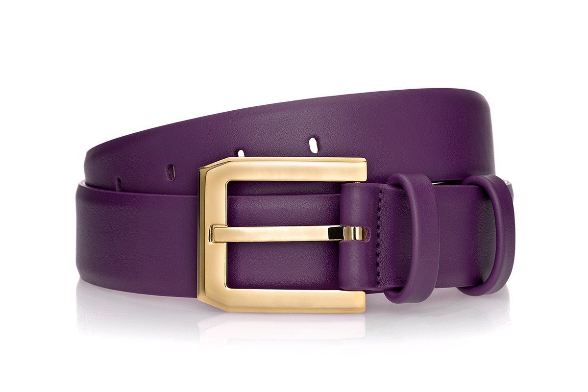 CREVÈL NAPPA PURPLE BELT