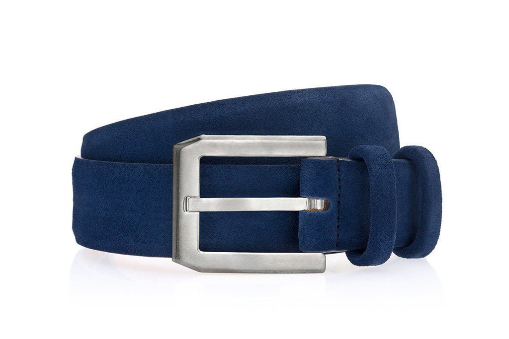 CREVÈL SOFTY NAVY BELT