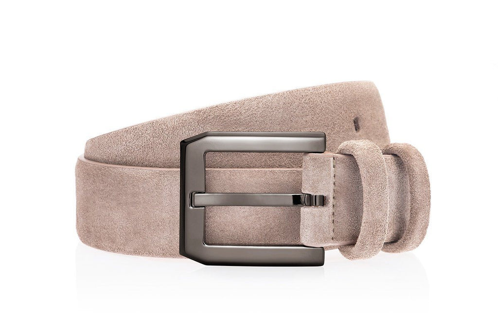 CREVEL SOFTY TAUPE BELT