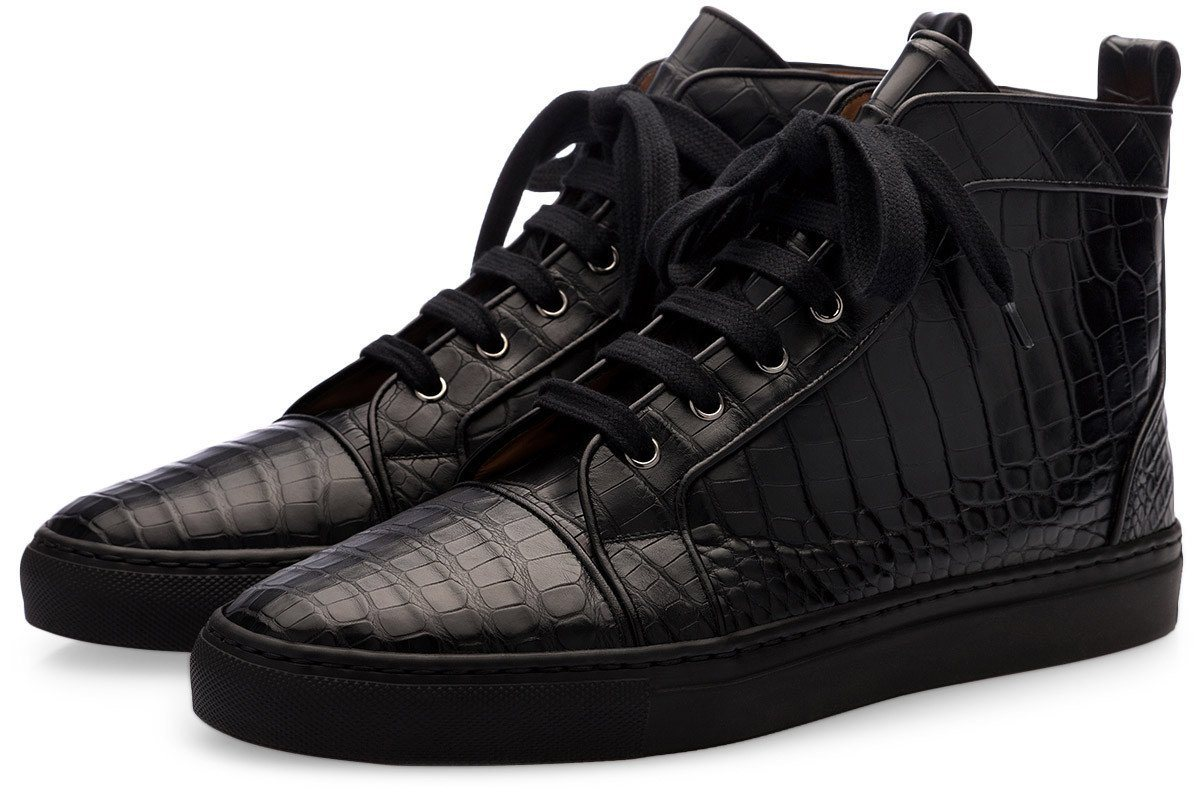 MAXIME MISSISSIPPI BLACK HIGH TOP Sneakers Superglamourous