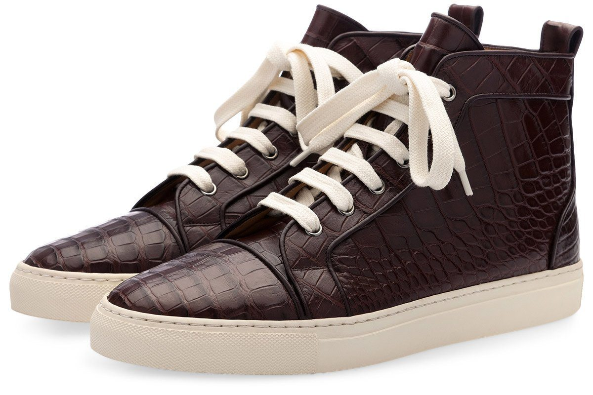 MAXIME MISSISSIPPI COCOA HIGH TOP Sneakers Superglamourous