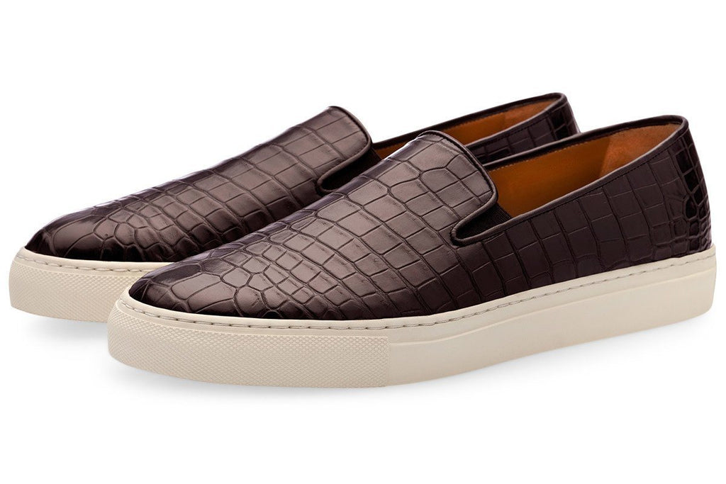 Crocodile Slip On Sneaker