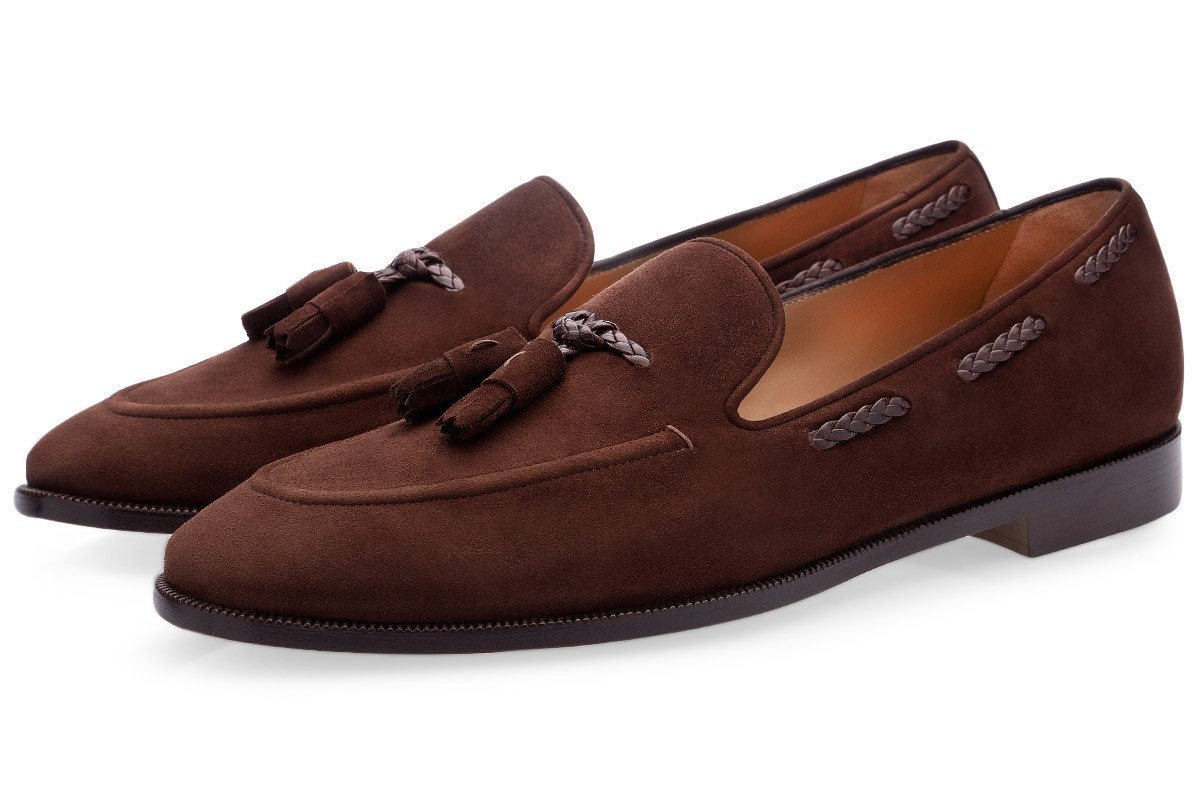 GIGAS VELUKID COCOA LOAFERS