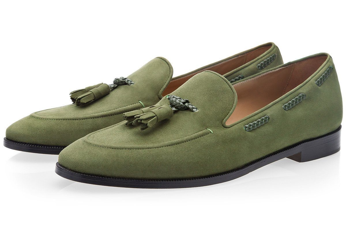 GIGAS VELUKID SAGE LOAFERS