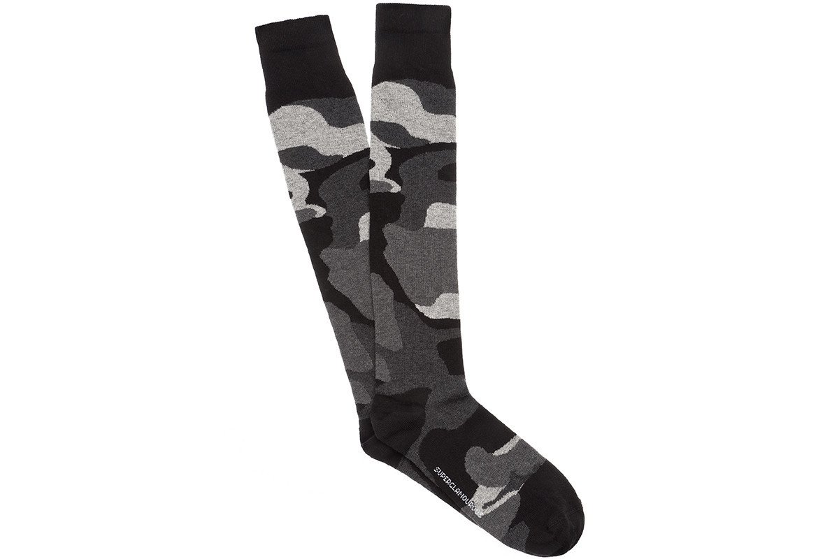 KARL COTTON GREY SOCKS