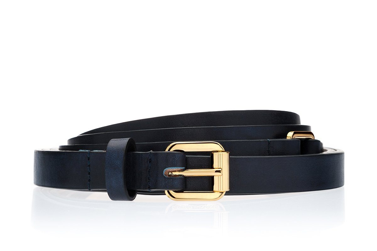 LACROSS RADICA NAVY BELT Belts Superglamourous